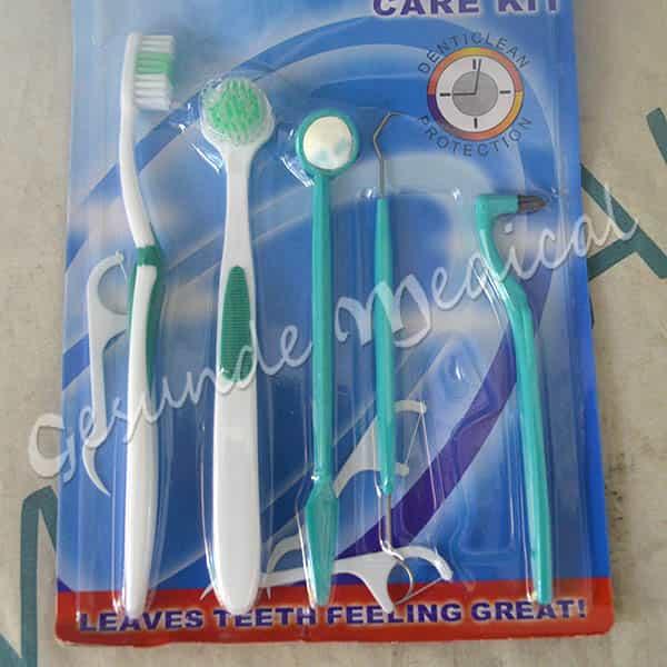 8 Buah Gigi Perawatan Gigi Kit Pembersih Cermin Kuas Alat Set