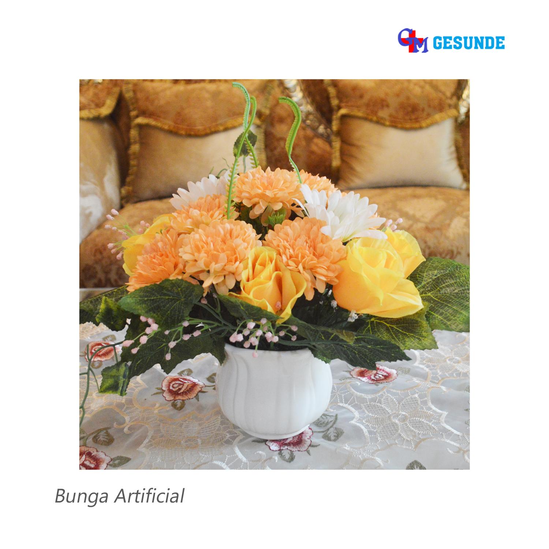 Jual Bunga Hias Meja Bunga Imitasi Untuk Dekorasi Distributor